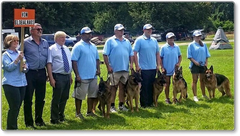 Globalhaus achieves another First Place Kennel Group finish!